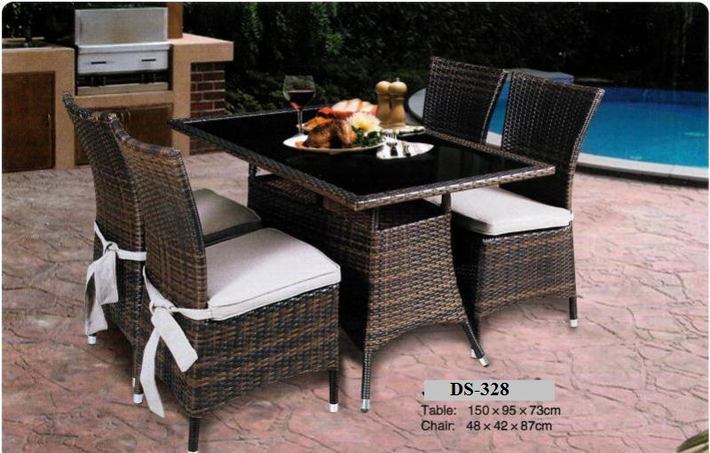 Outdoor Deck Wicker Chair