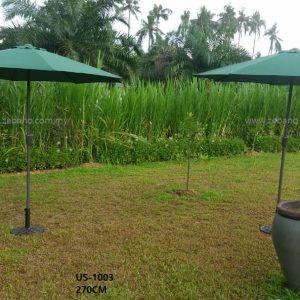 Garden Centre Pole Umbrella Us 1003  Zebano (1)