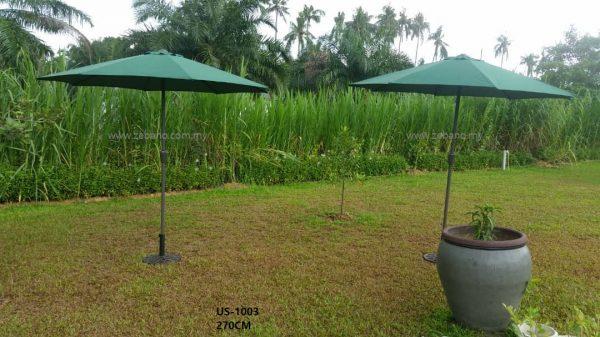 garden umbrella centre pole us-1003c zebano