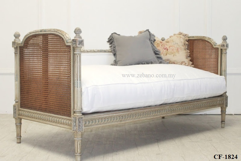 Cane Wicker French Design Day Bed CF-1824