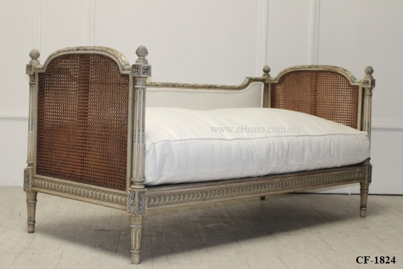 Cane Wicker French Design Day Bed CF 1824 (2)