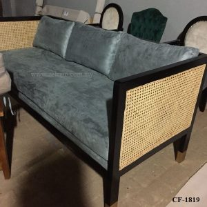 French Design Rattan Sofa Bed CF 1819 .