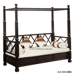 Teak Poster Day Bed LS-310(DB