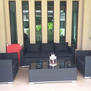 Outdoor Wicker Rattan Sofa Set SS 6025