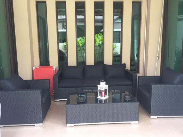Outdoor Wicker Rattan Sofa Set SS-6025