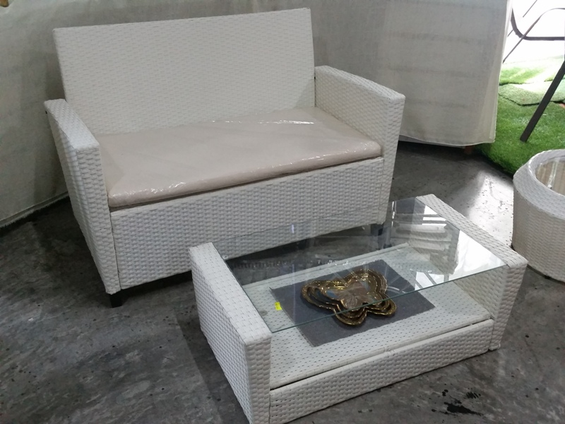 Deck Wicker Sofa set SS-091STK