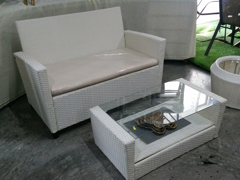 Deck Wicker Sofa set SS-091STK (2)