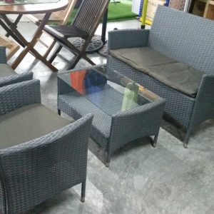 Deck Wicker Sofa Set SS-091SK
