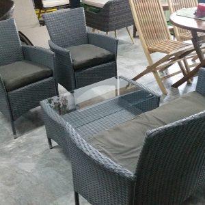 Deck Wicker Sofa Set SS 091SK (2)