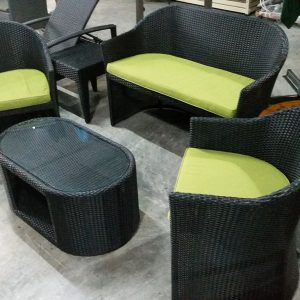 Pool Deck Rattan Sofa Set SS 041 (2)