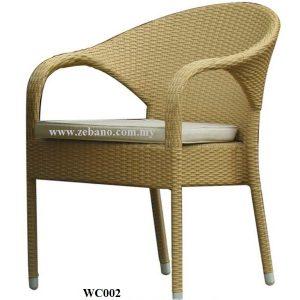 Serene Wicker Outdoor Chair WC002