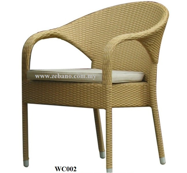 Serene Wicker Outdoor Chair WC002