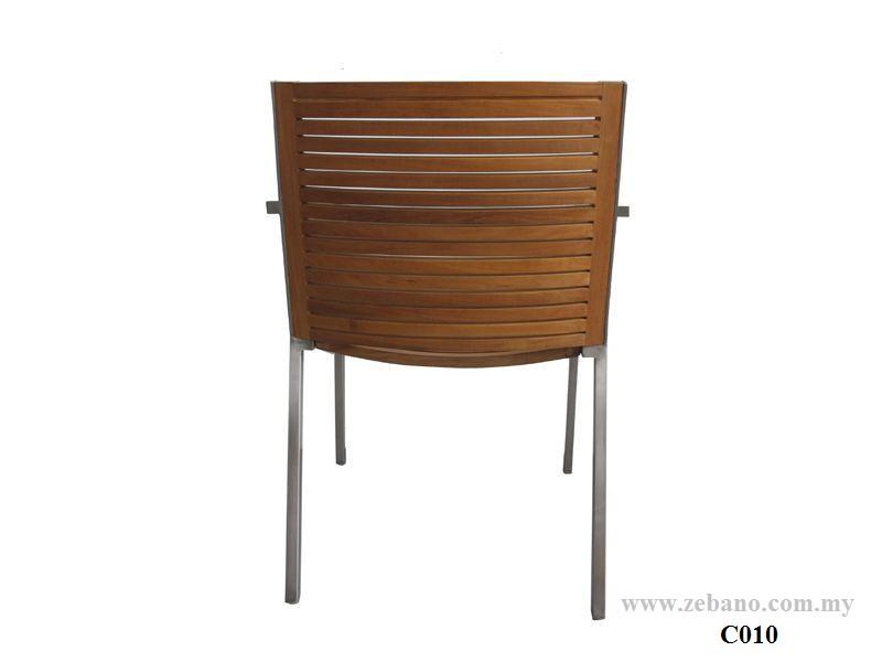 Teak Accura Dining Chair C010 (3)