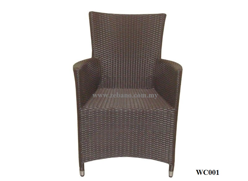 Wicker Venice Chair WC001 ZEBANO