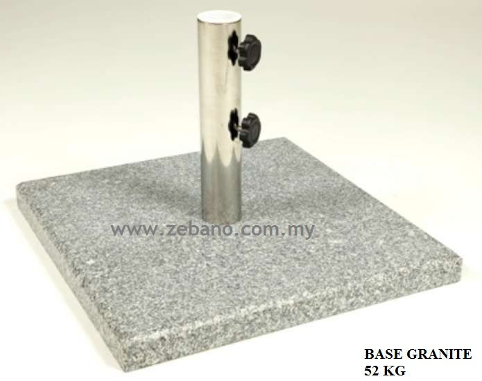 Umbrella Stand Base Granite
