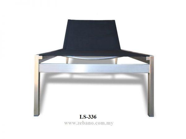 Eiffel Premiere Stainless Steel Sun Lounger LS-336 (4)