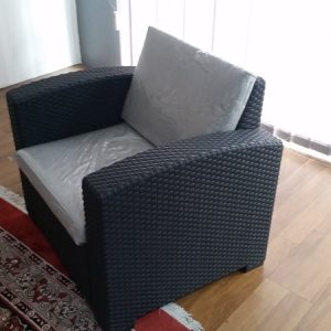 Molded Single Seat Sofa SS-6025ASTK