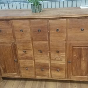 Solid Teak Wood Cabinet Drawers