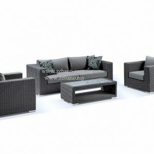 Outdoor Rattan Wicker Sofa Set SS 090CM (1)