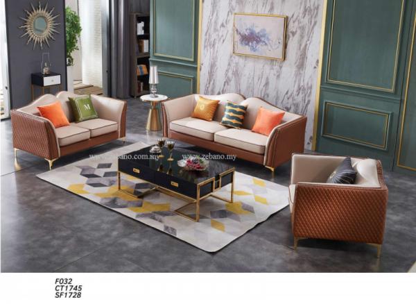 Luxury Living Room Sofa Set F032