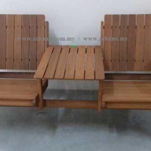 Jack & Jill Double Bench Chair