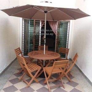 Wooden Outdoor Dining Set