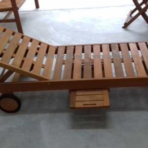 Wooden Pool Deck Loungers