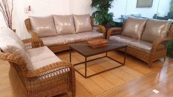 Classic wicker rattan sofa SS-989