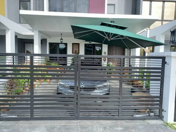Cantilever Parasol with Solar Charge Led Lights US-0108 LED
