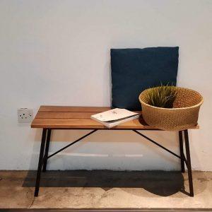 Balau Wood 2 Seated Bench (2)