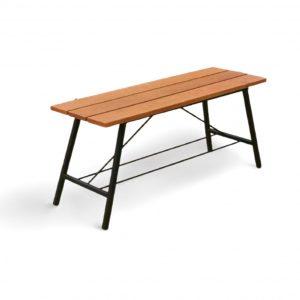 Balau Wood 2 Seated Bench